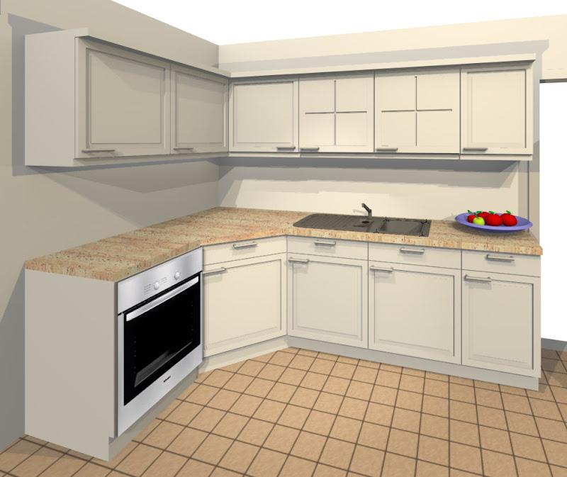 ElementsCAD - Küche mit Textur