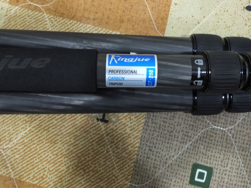 購入第一隻碳腳 Kingjue CT-288 + QE-1T 開箱