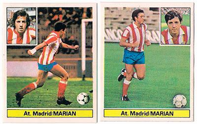 At. Madrid - Ediciones ESTE 81/82 Marian