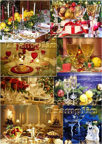 Новогодний стол - New years table