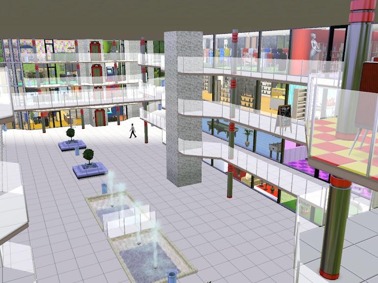sims3 shopping mall.galeria handlowa czyli promocje i zakupy pełną parą !