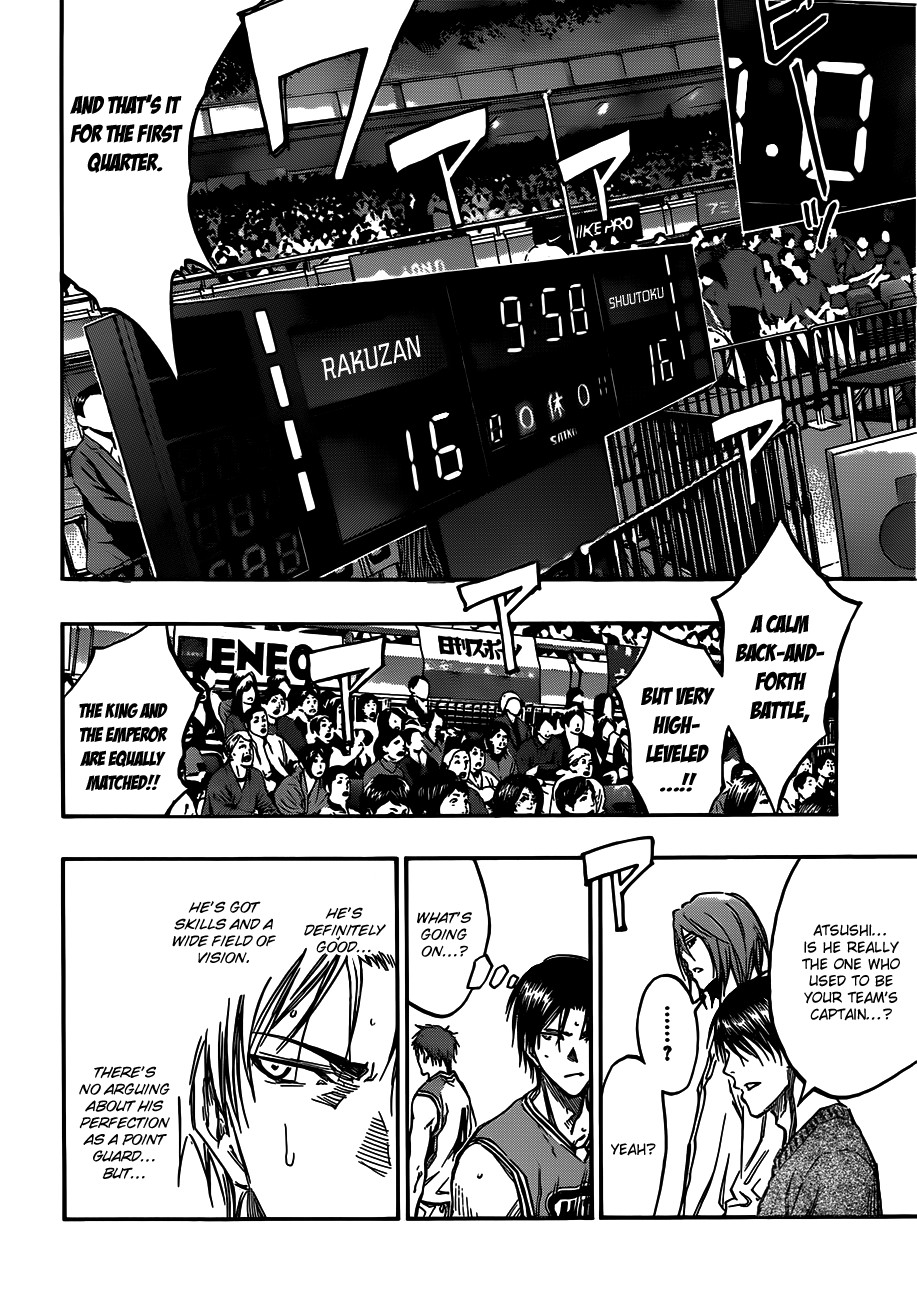 Kuroko no Basket Manga Chapter 176 - Image 08