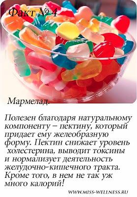 полезные сладости для фигуры мармелад