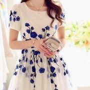 Видеть во сне себя в новом платье синем