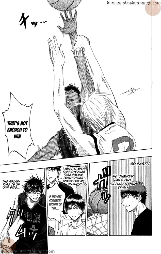 Kuroko no Basket Manga Chapter 64 - Image 13