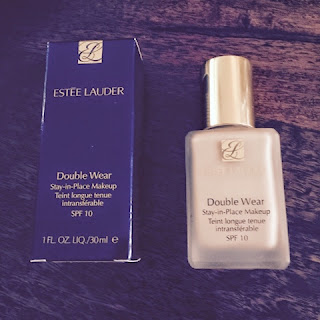 Estée Lauder Double Wear Box and Bottle.