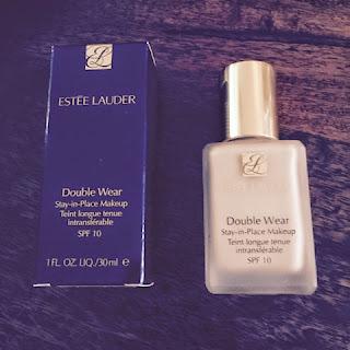 Estée Lauder Double Wear Box and Bottle.