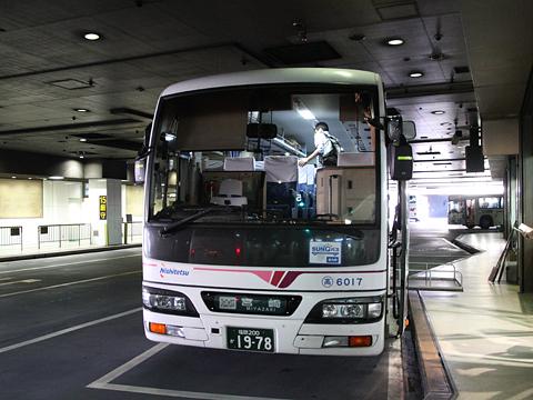 西日本鉄道「フェニックス号」 6017 西鉄天神BC改札中