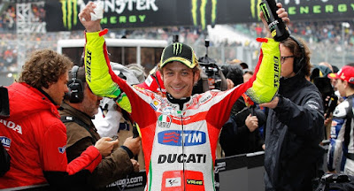 Valentino Rossi Le Mans 2012