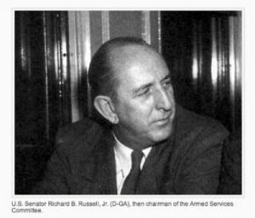 U S Senator Richard Russell Sees Disc Shaped Ufo In Ussr