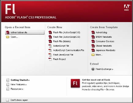 Download Panduan E-BOOK Gratis Tutorial Adobe Flash Cs3 Professional