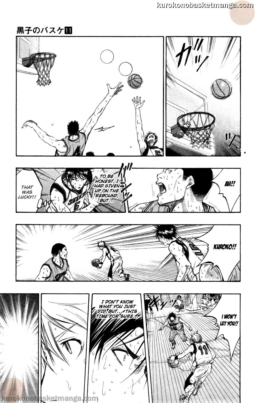 Kuroko no Basket Manga Chapter 90 - Image 15