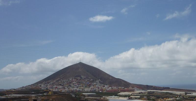 Der Vulkankegel von Galdar