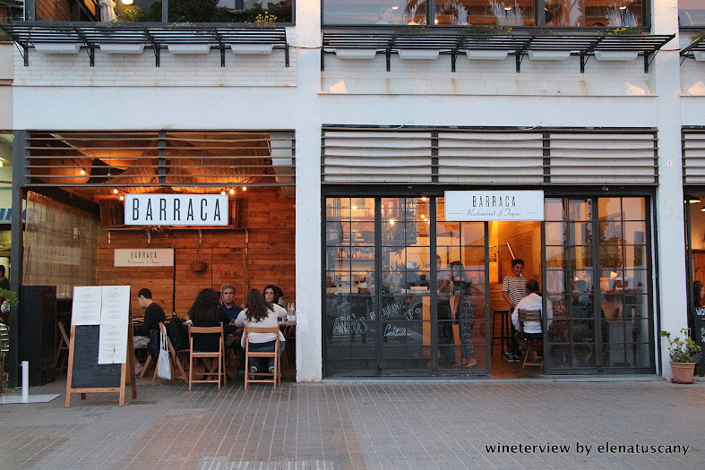 barraca, restaurant, barceloneta, barcelona