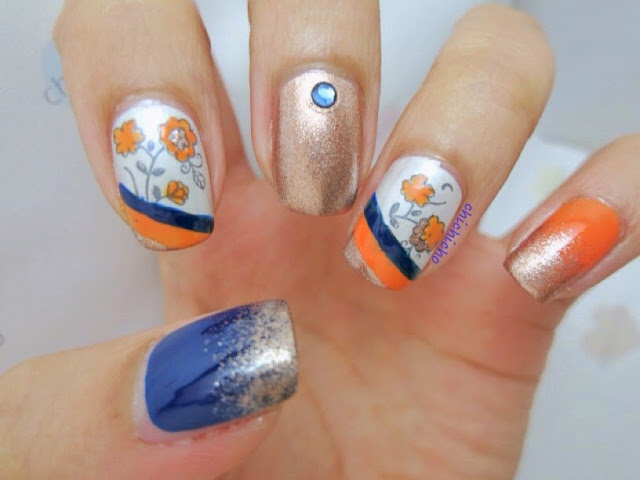 Empress of China Nail Art (Image plate Y006 Born Pretty Store Review)