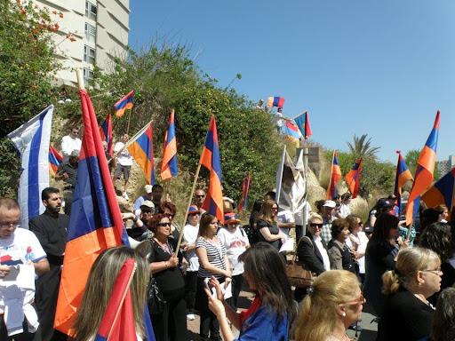 Ցույց թուրքական դեսպանատան դիմաց