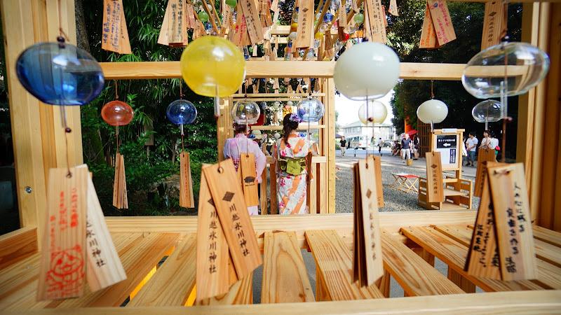 川越氷川神社 風鈴回廊 写真4