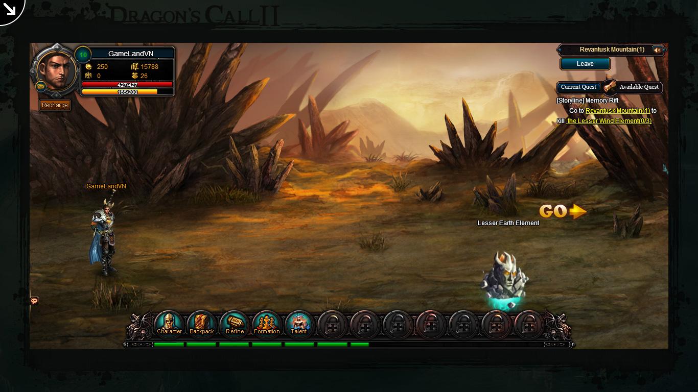 Một số hình ảnh về webgame Dragon's Call 2 - Ảnh 24