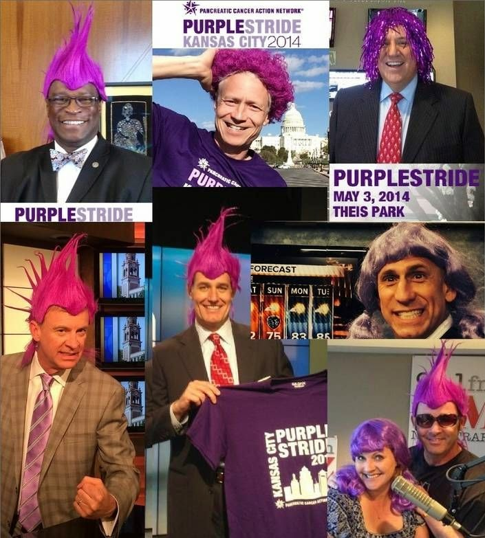 Tony's Kansas City: MUST SEE!!! KC PURPLE STRIDE PREP WITH LOCAL ...