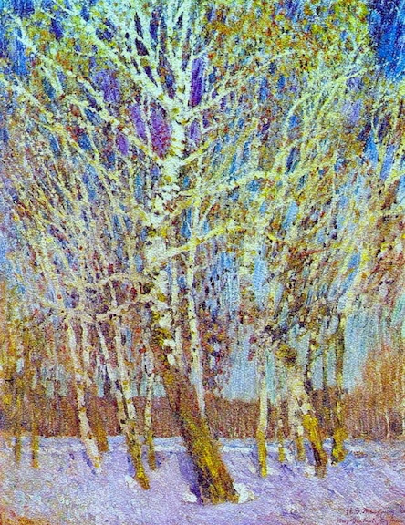 Igor Grabar - February Azure 1904