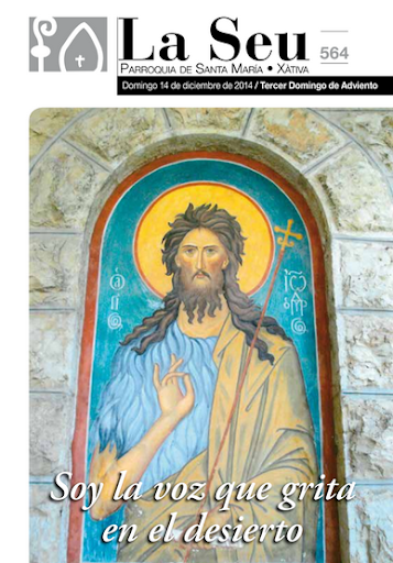 Hoja Parroquial Nº565 - Jesús es el mejor regalo de Navidad. Iglesia Colegial Basílica de Santa María de Xàtiva - Sexto aniversario de la erección de la colegiata.