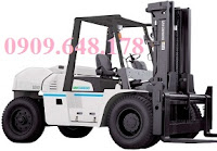 Nissan diesel forklift 6 - 10 tons by Unicarriers