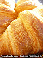 french village diaries food France croissants