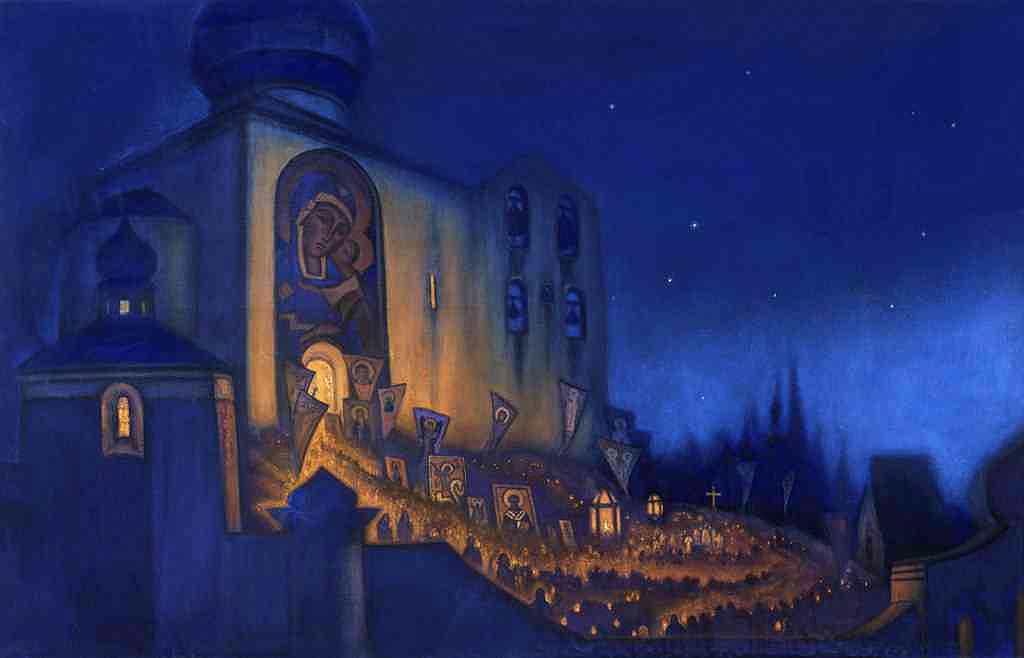 Nicholas Roerich - Easter Procession