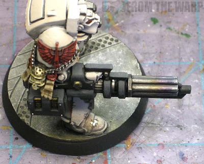 Warhammer 40k heat stained gun barrels example