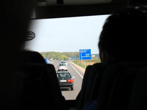 Typowa litewska główna droga