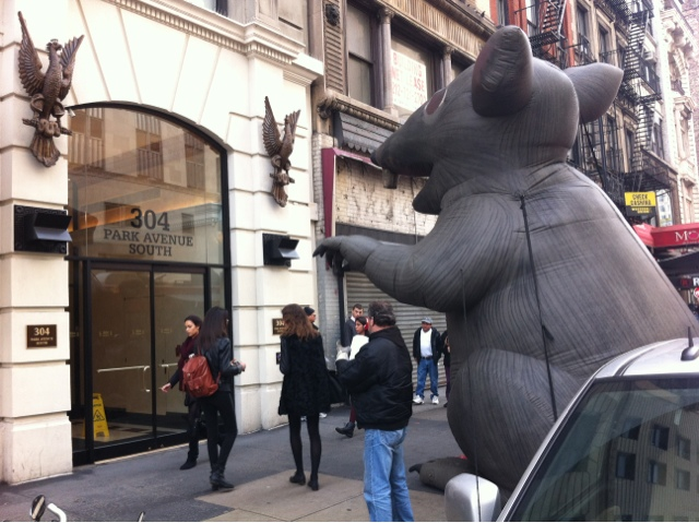NYC : News & Analysis: Union Rat at 304 Park Ave  South - SL