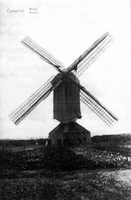 Figuur 6: De Windmolen van Kumtich verdween in 1942.
