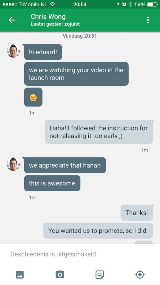 Commentaar van Google op mijn video