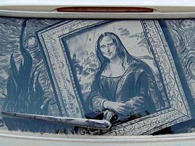 Bila Debu Mobil Disentuh Sang Seniman