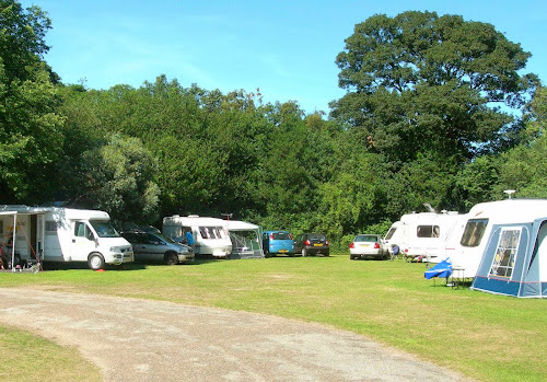 Hartsholme Country Park campsite at Hartsholme Country Park campsite