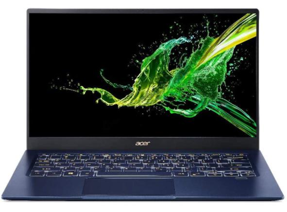 Imagem de notebook da marca Acer e modelo Swift 5 Touch