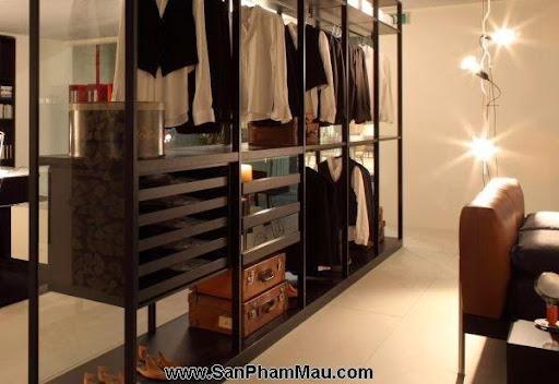 <strong><em>Thiết kế tủ quần áo</em></strong>: Khẳng định con mắt thẩm mỹ với tủ quần áo mở-1