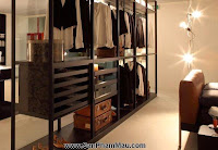 Thiết kế tủ quần áo: Khẳng định con mắt thẩm mỹ với tủ quần áo mở