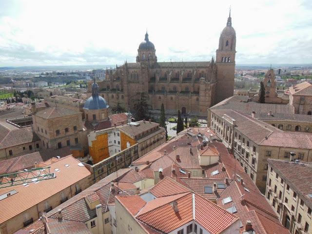Vistas de Salamanca desde las Torres de la Clerecía