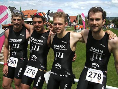 links Matthias Ziegler und rechts Philipp Sahm im Regionalligateam
