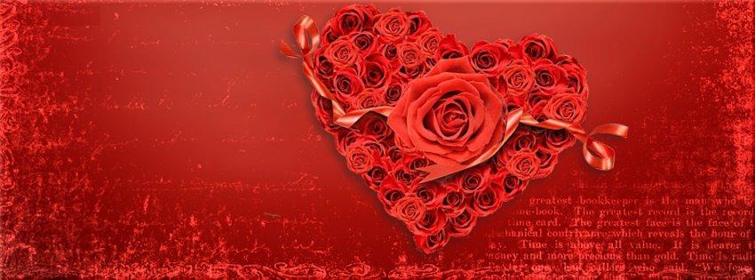 Ảnh đẹp trái tim với những nụ hôn đỏ thắm