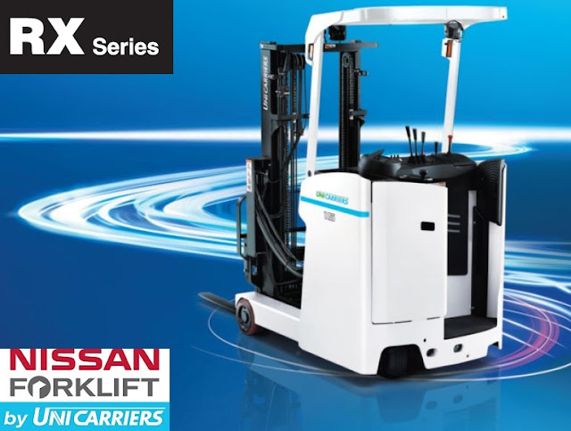 Unicarriers Japan reach truck RX series
