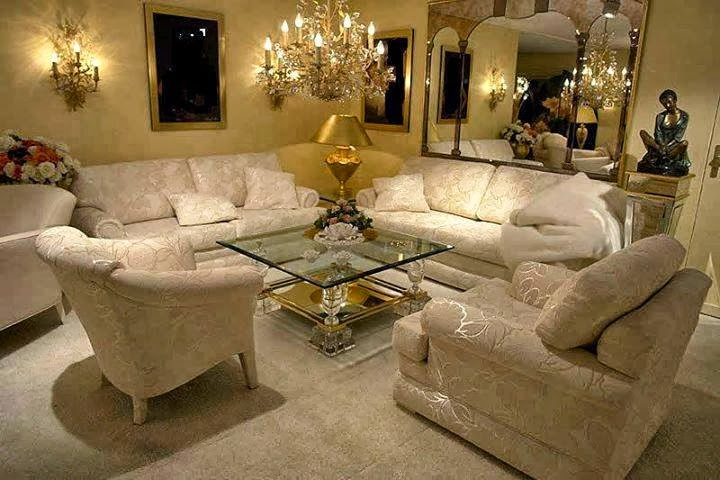Salas De Estar Modernas E Luxuosas ~ Desing e Estilo!!! Decorações luxuosas para salas de estar