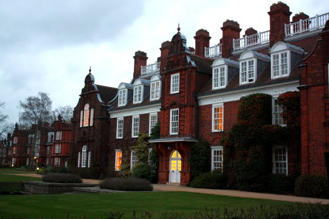 Newnham College at Cambridge University in England