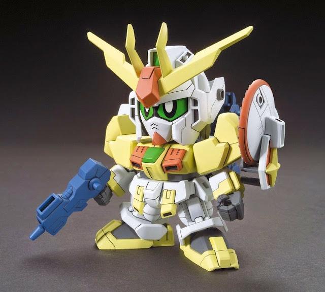 Lắp ghép Winning Gundam SD Build Fighters BB 23 không tỷ lệ, cao khoảng 8 cm