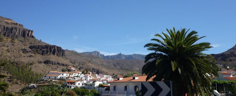 Panorama von Fataga