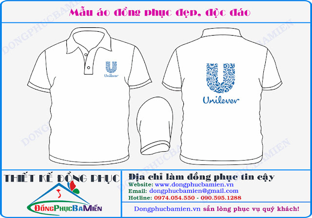 Dong phuc ban hang cong ty Unilever