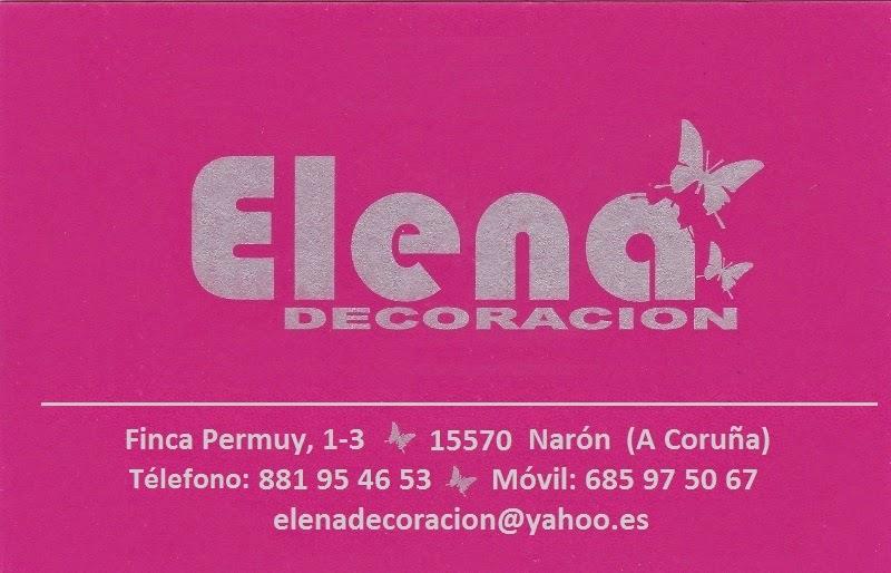 Elena Decoración, colaborador coa A.D.R. Numancia de Ares.