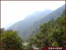 谷關山嵐風景