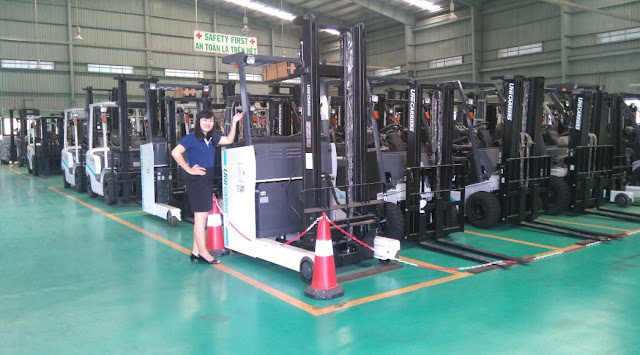 Forklift truck Rental services in HCMC